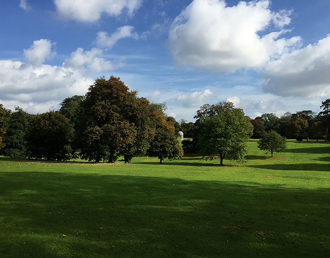 Sewerby Hall grounds image